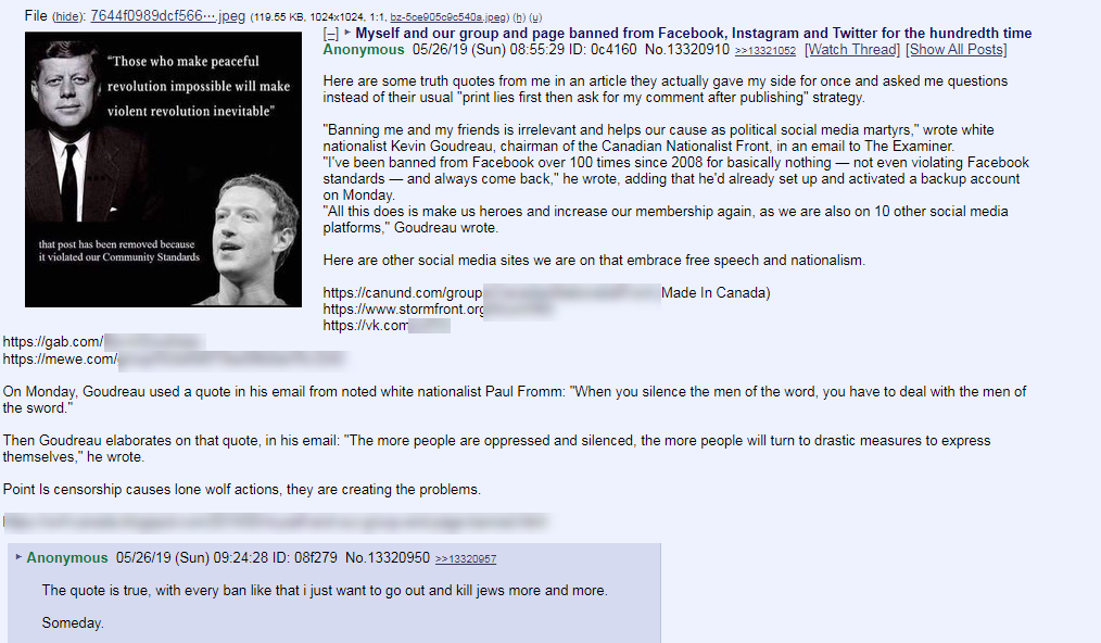 Canadian Nationalist Front 8chan3