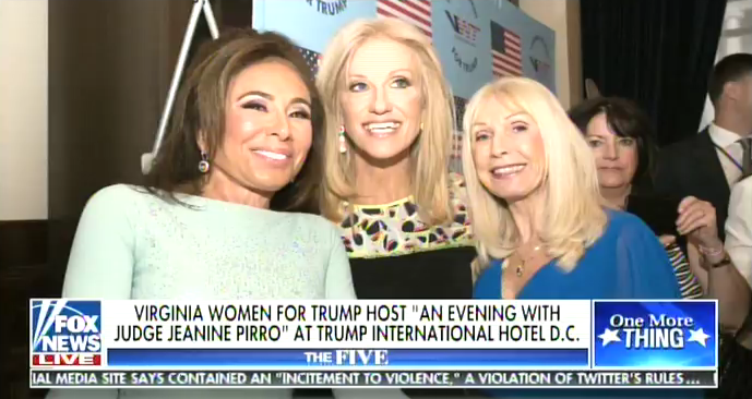Jeanine Pirro Virginia Women for Trump