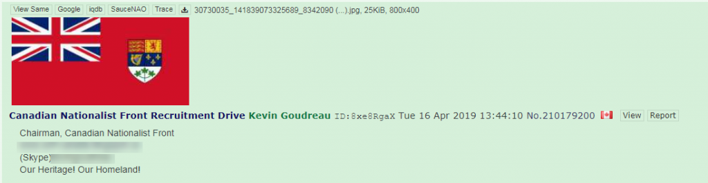 Canadian Nationalist Front 4chan2