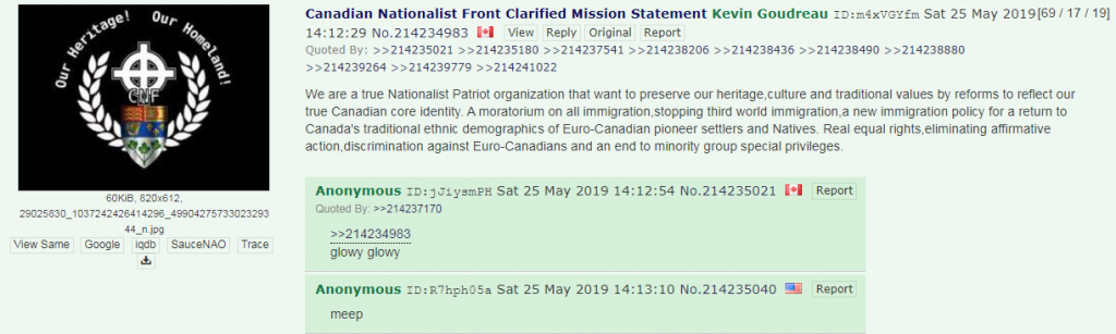 Canadian Nationalist Front 4chan3