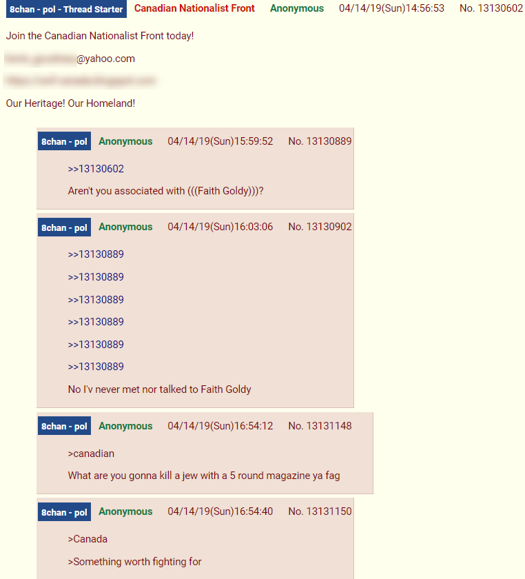 Canadian Nationalist Front 8chan1