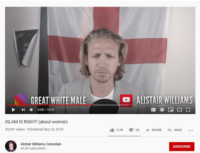 Alistair Williams 4chan campaign