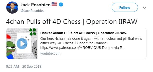 Posobiec 4chan campaign