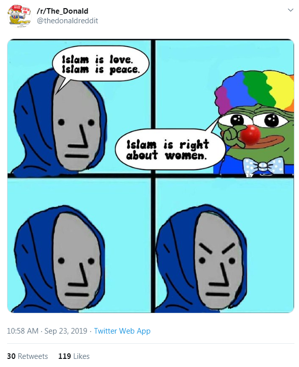 The Donald Twitter account 4chan campaign1