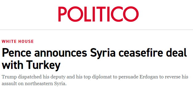 politico syria turkey