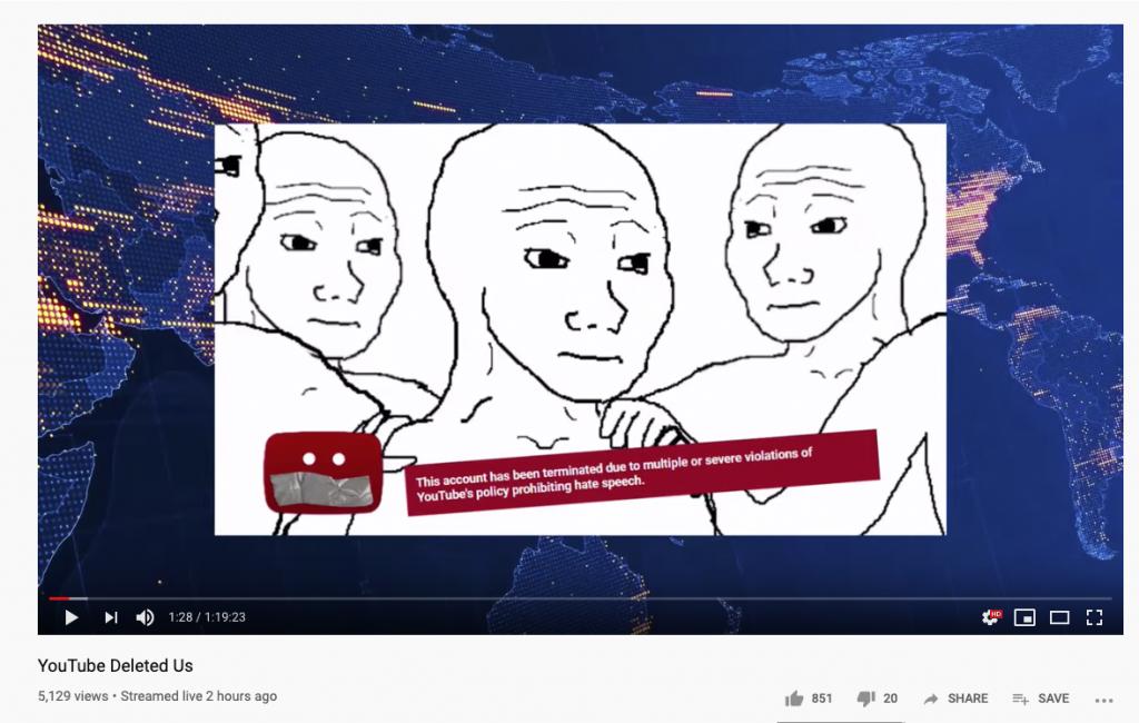 RedIce YouTube ban