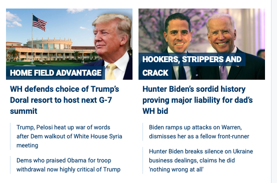 "FoxNews.com - ""Home Field Advantage"" for G-7 - and Hunter Biden accusations"