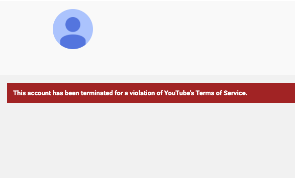 YouTube Red Ice Media Removal