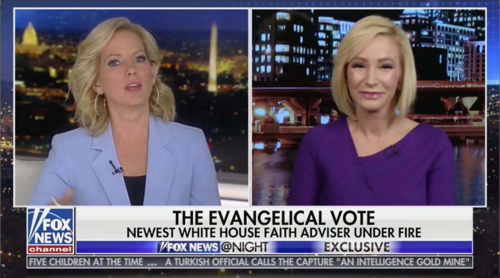 Paula White Cain on Fox News At Night