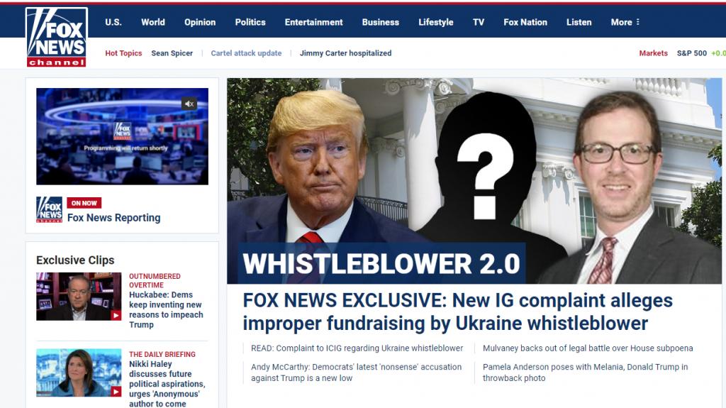 Fox News whistleblower 2.0