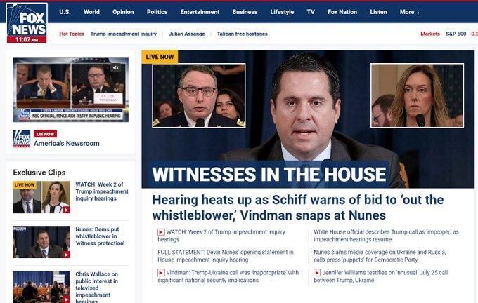 Right-Wing Media Distort Key Moments In Vindman Testimony