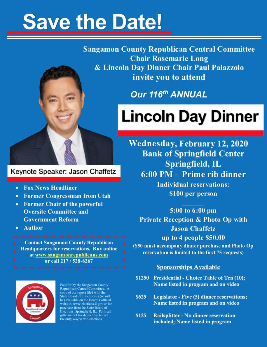 Sangamon GOP event with Jason Chaffetz