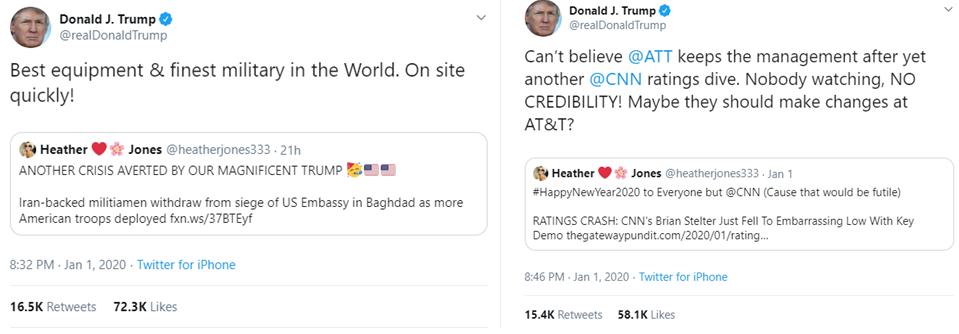 Trump @heatherjones333