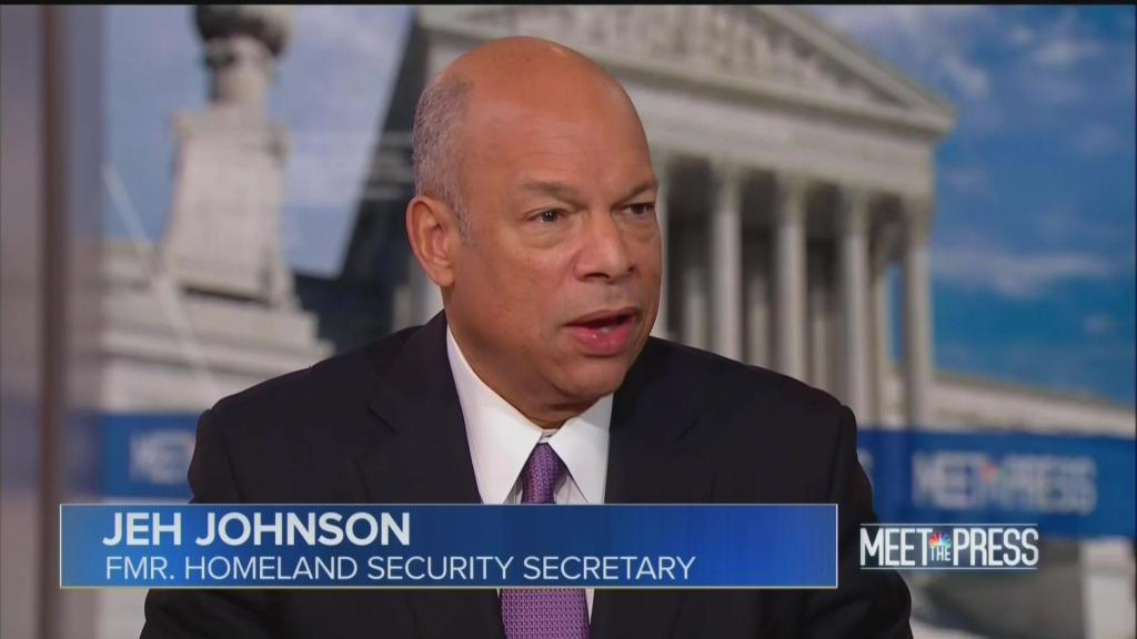 Jeh Johnson meet the press