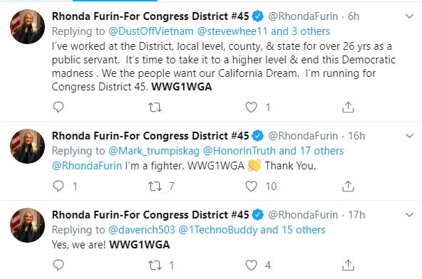 Rhonda Furin Twitter QAnon