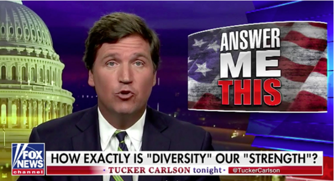 "Tucker ""Answer me this"""
