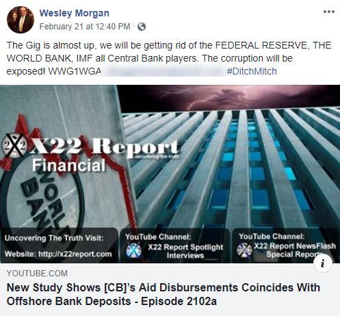 Wesley Morgan QAnon Facebook post3