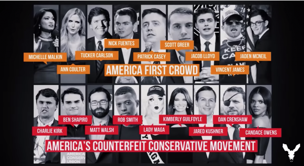 VDARE Conservative Inc. vs. America First