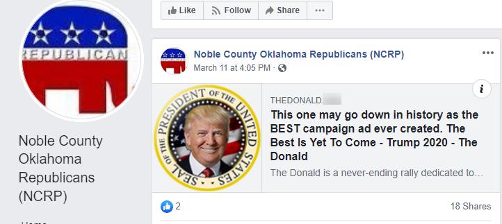 Noble County JoeM video