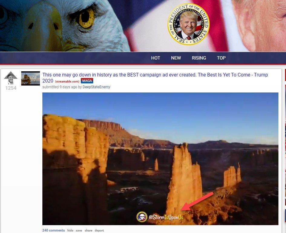The Donald subreddit backup site JoeM video