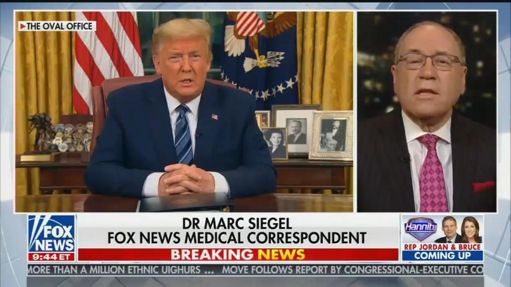 Fox News contributor Dr. Marc Siegel