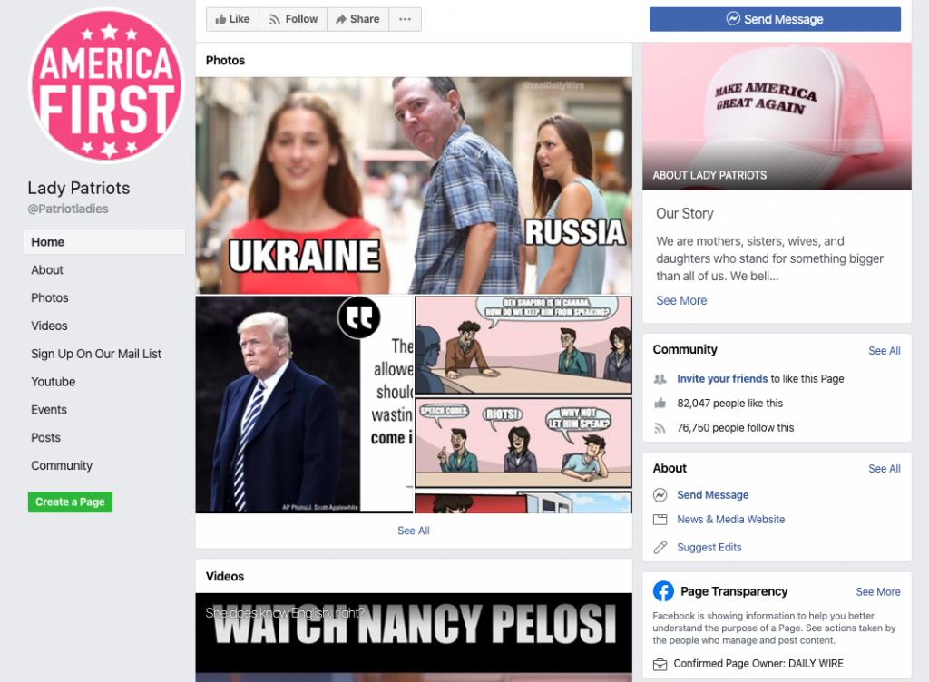 Lady Patriots Facebook page_as of 20200320