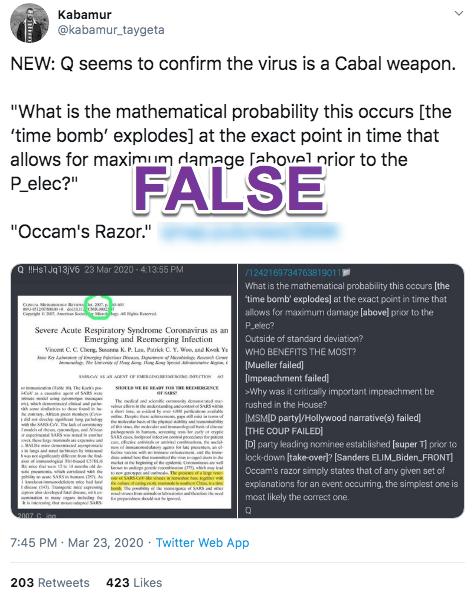 Q post coronavirus Twitter2