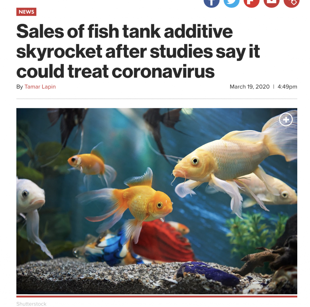 NY Post fish tank cleaner