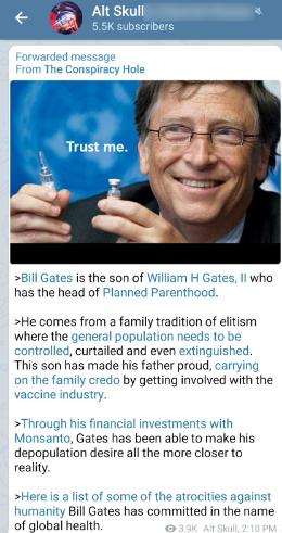Bill Gates Telegram