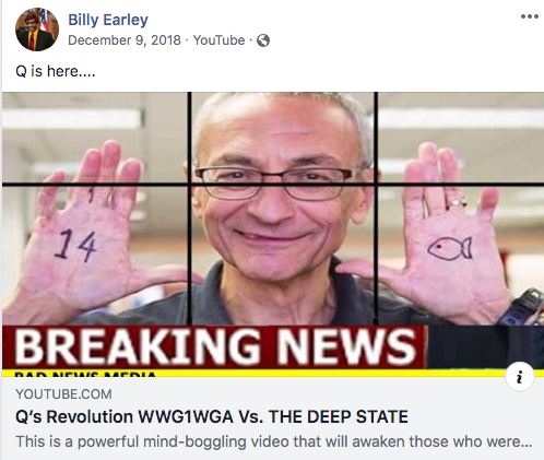 Billy Earley QAnon video3