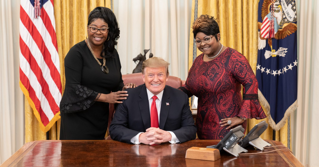 Diamond and Silk at the White House