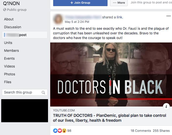 Plandemic Facebook groups3