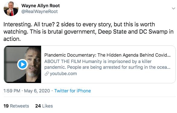 Plandemic Wayne Allyn Root
