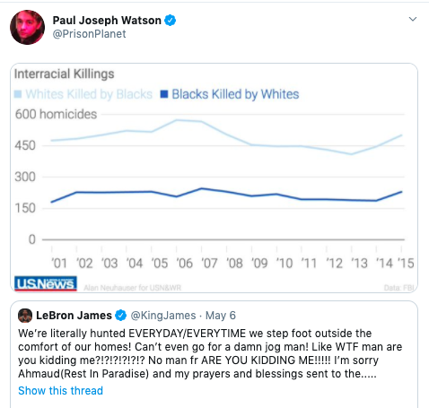 Paul Joseph Watson on Twitter