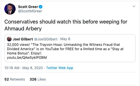 Scott Greer on Twitter