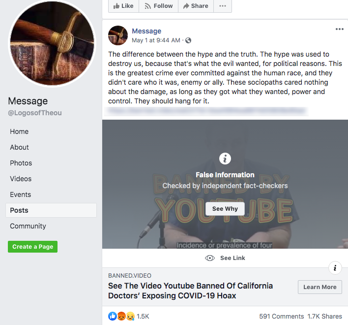 banned.video Facebook post4