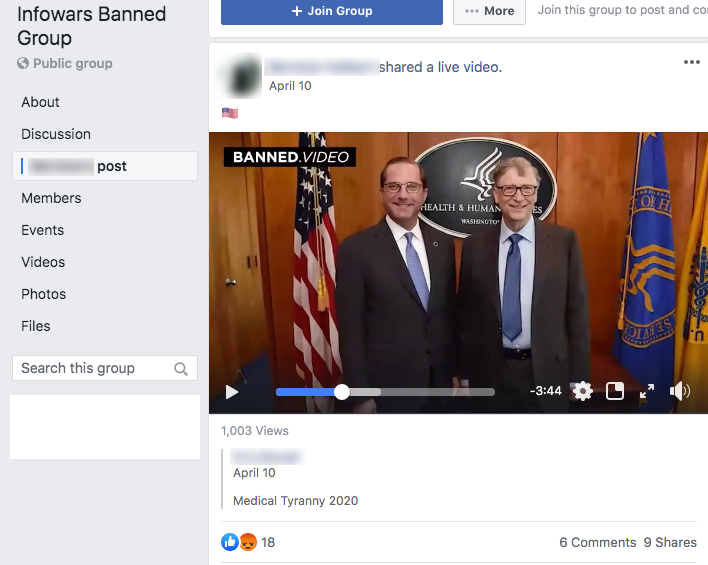banned.video FB post