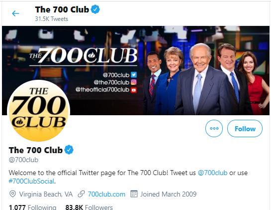700 Club Twitter