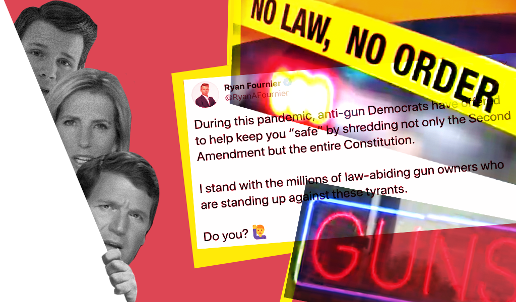 Conservative media encourage COVID-19 related gun purchases