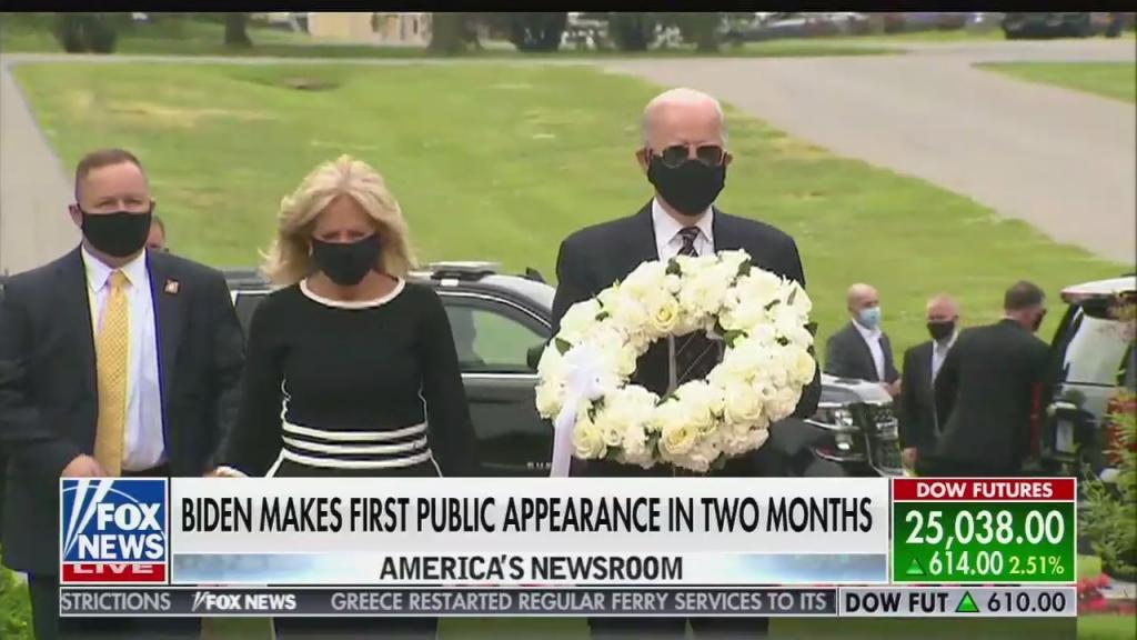 Joe Biden wearing mask / Fox News