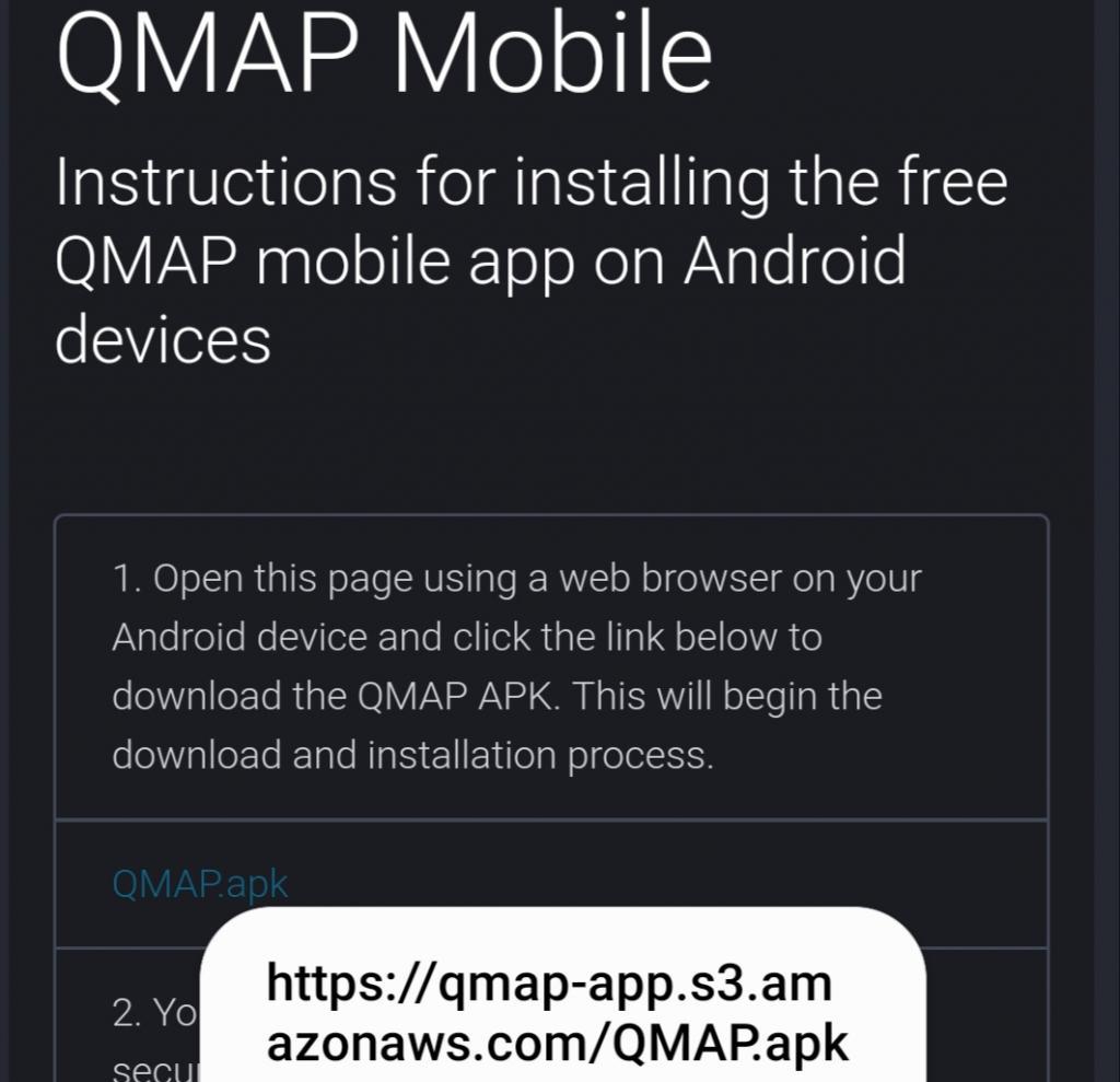 QMAP URL