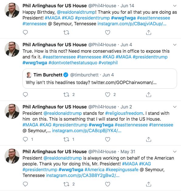Phil Arlinghaus QAnon Twitter