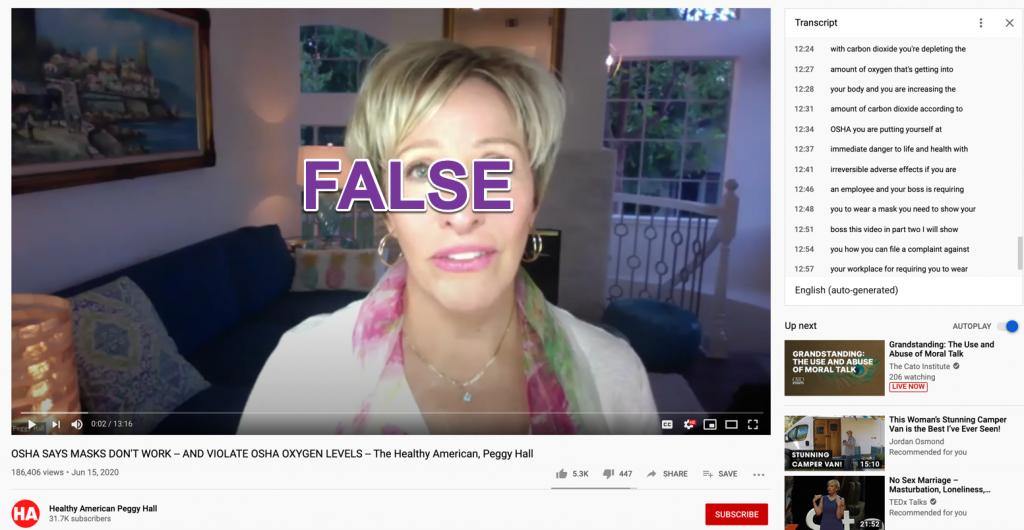 Peggy Hall YouTube video1
