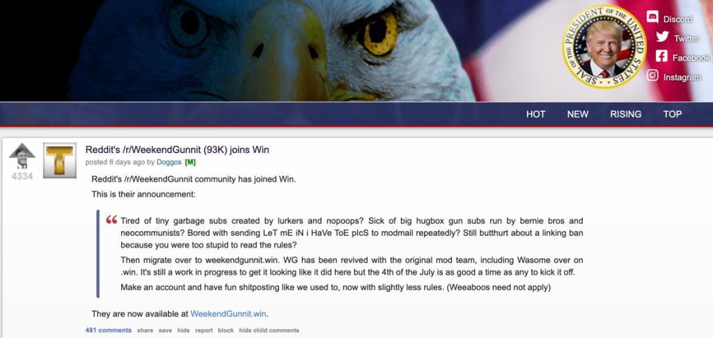 weekendgunnit . win announcement