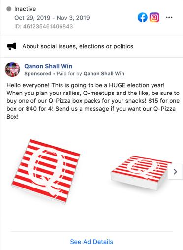 Facebook QAnon ads8