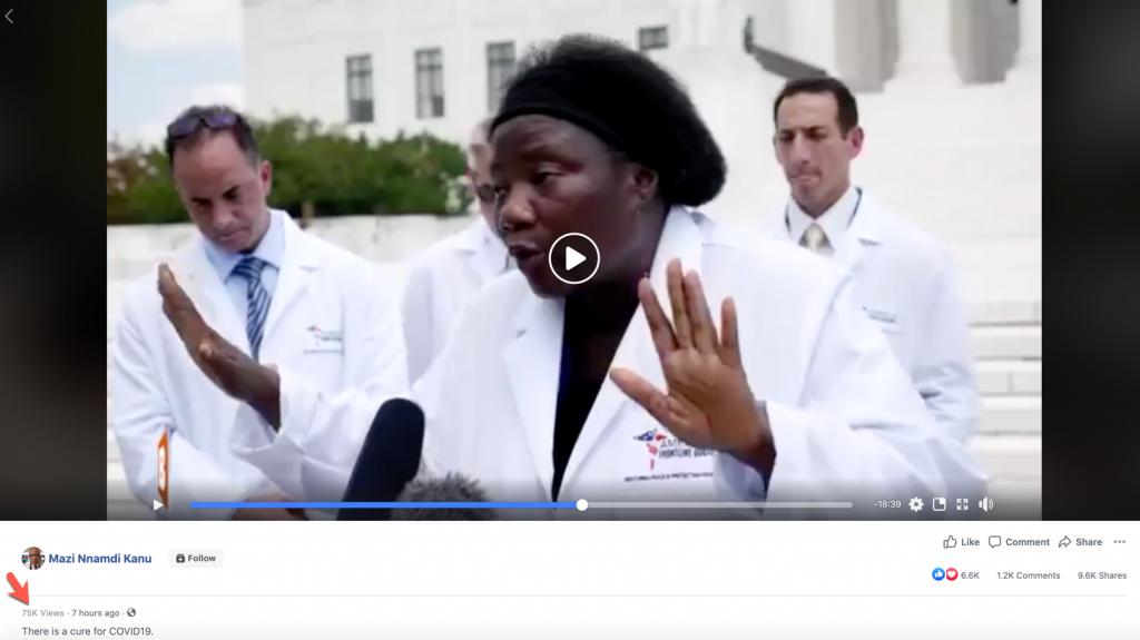 Mazi Nnamdi Kanu coronavirus video