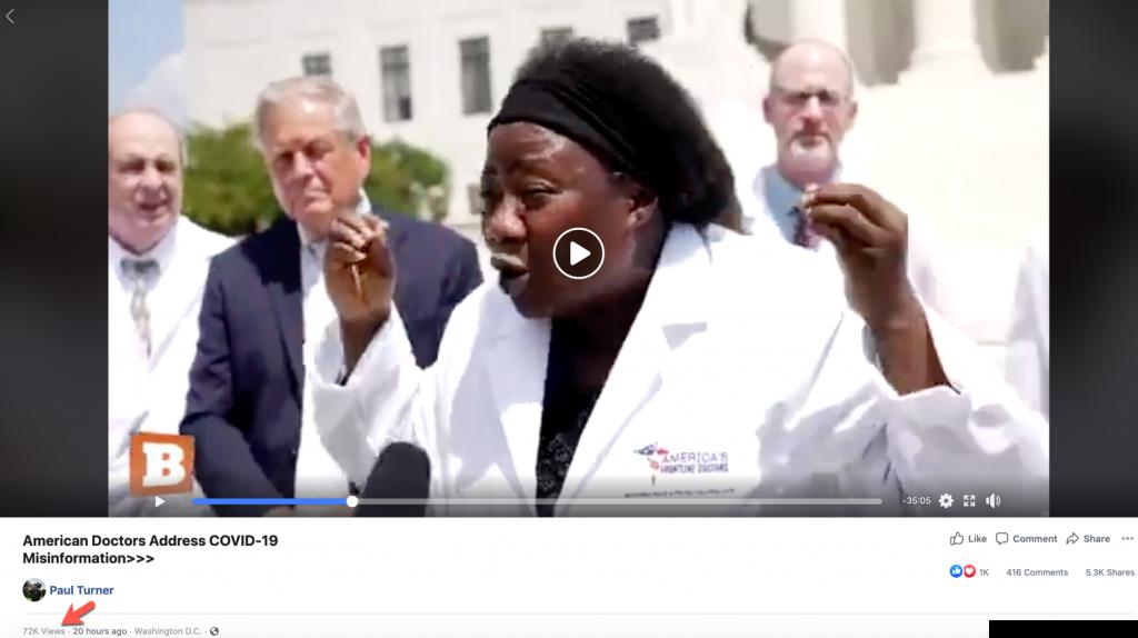 Paul Turner coronavirus video