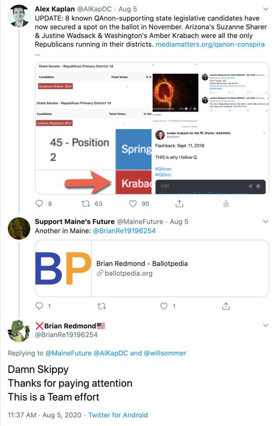 Brian Redmond Twitter response