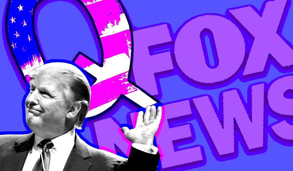 Trump Qanon Fox