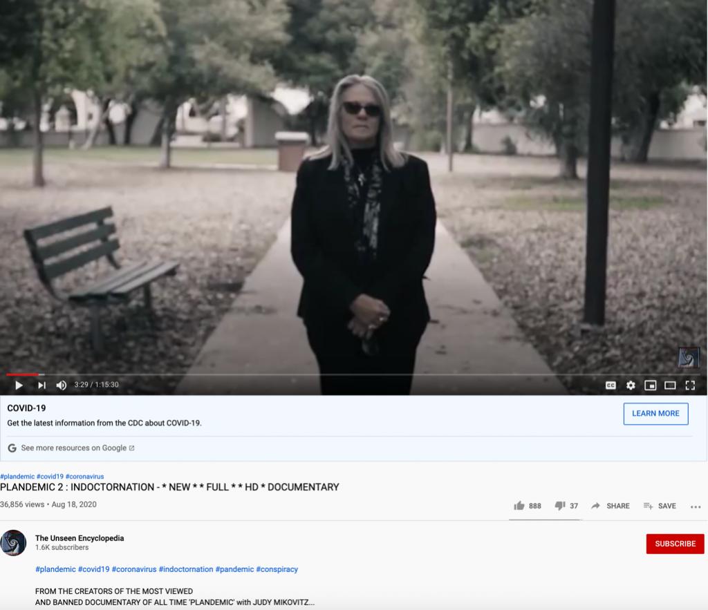 Plandemic 2 YouTube upload1